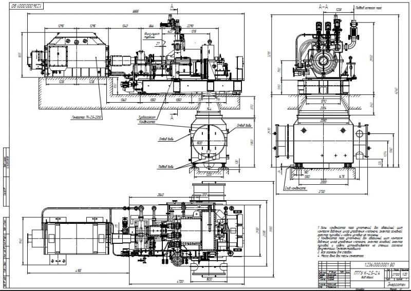 Steam turbine K-2,5-2,4